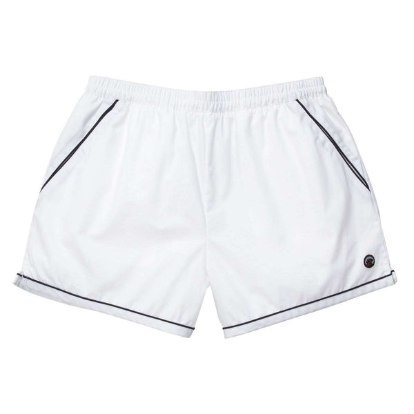 Southern Proper - Hackett Short: White and Navy