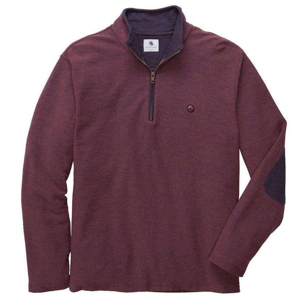 Southern Proper - Nelson Pullover: Rust Red