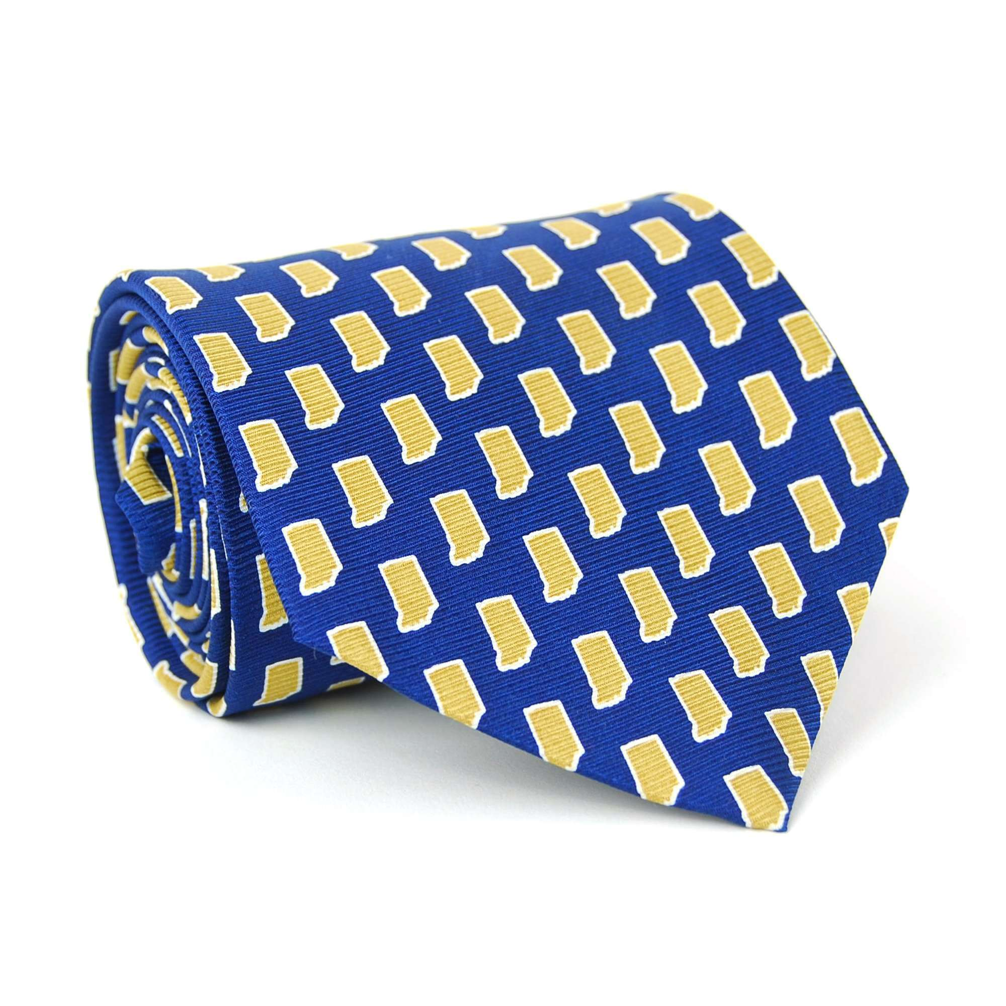 Indiana Gameday Tie: Navy
