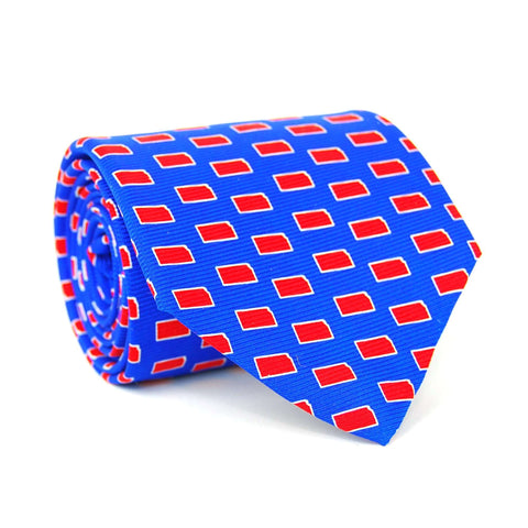 Southern Proper - Kansas Gameday Tie: Blue