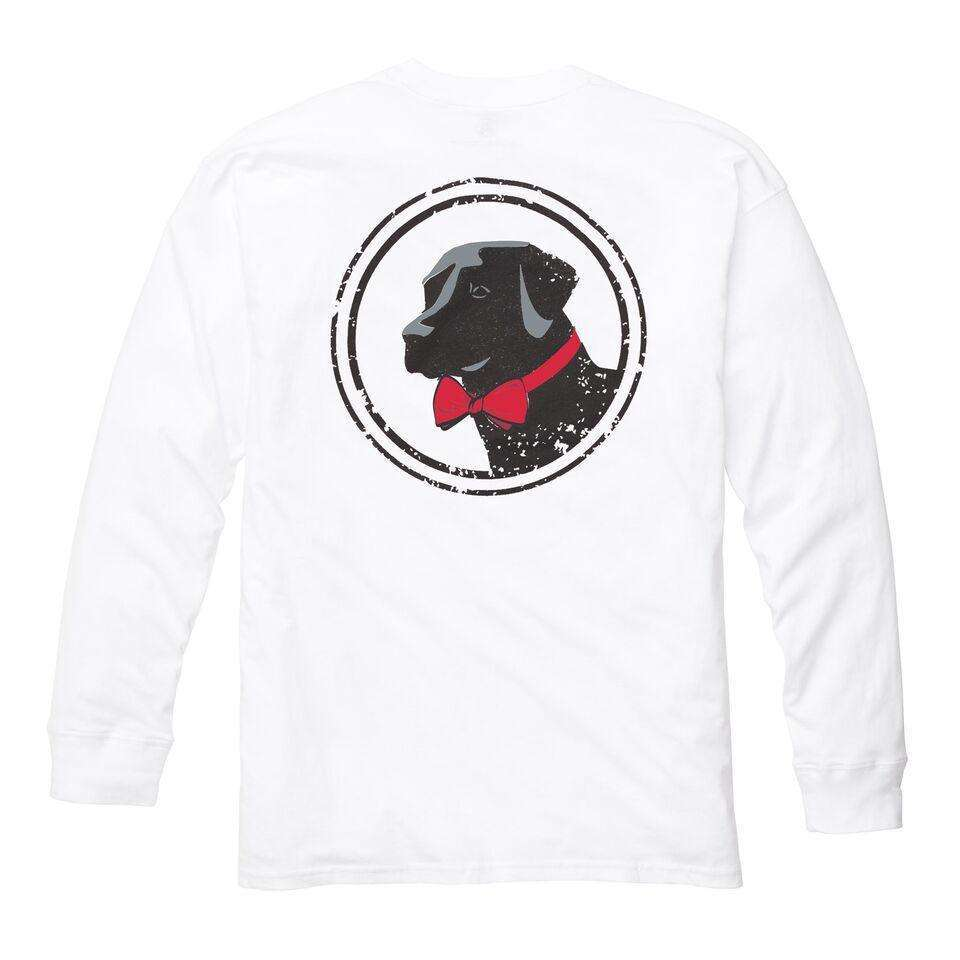 Original Logo Long Sleeve Tee: White