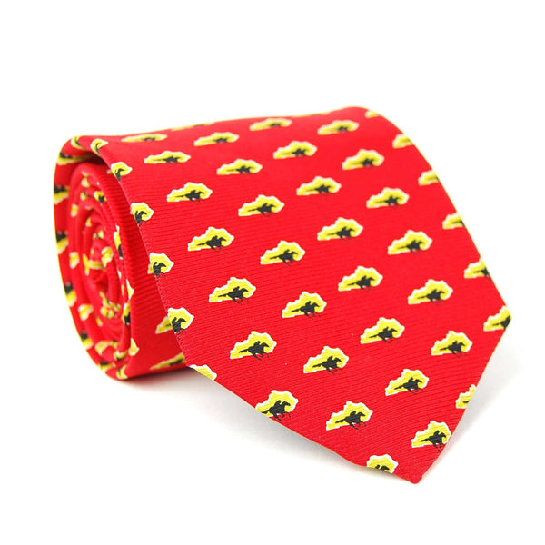 Southern Proper - Kentucky Traditional Tie: Red