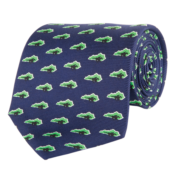 Southern Proper - KY Traditional Navy Tie