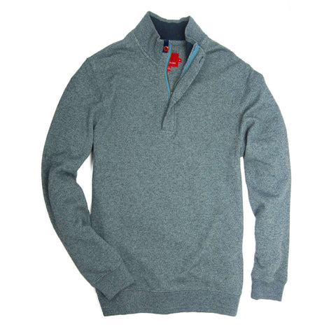 Southern Proper - Leland Pullover - Silver Blue