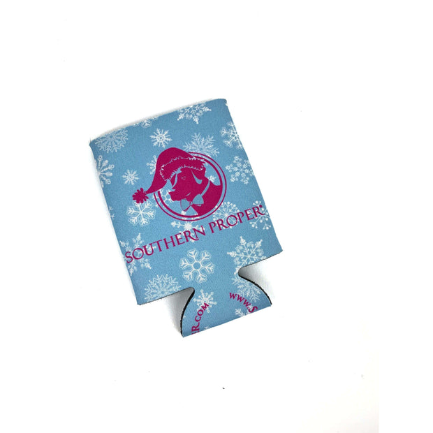 "Southern Proper - Let it ""SoPro"" Holiday Coozie: Pink"