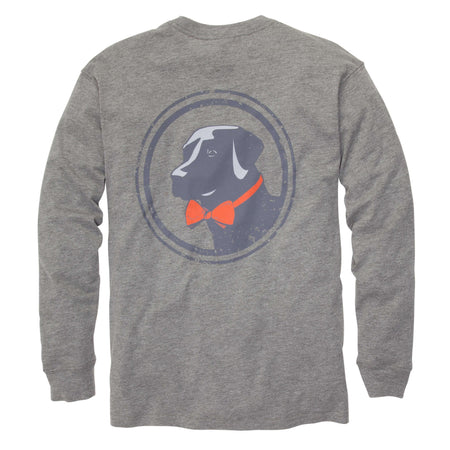 Let It Fly Tee: Heather Grey