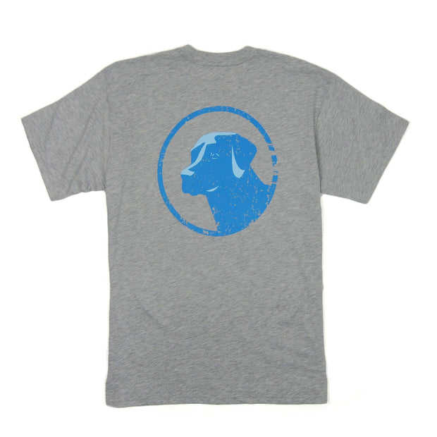 Southern Proper - Low Country Lab Tee: Heather Grey