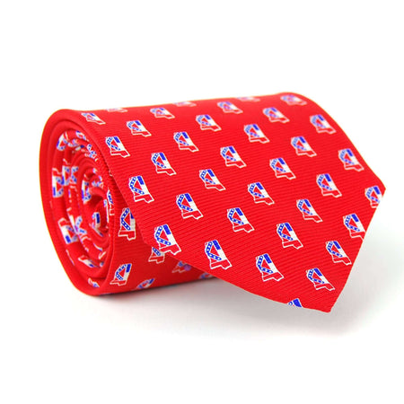 Mississippi Gameday Tie: Red