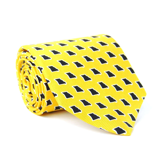 Southern Proper - Missouri Gameday Tie: Gold