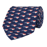 Southern Proper - NC Traditional Navy Blue Tie