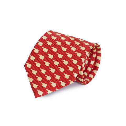 Southern Proper - Oklahoma Gameday Tie: Red