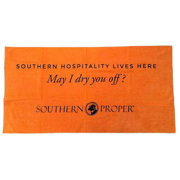 Southern Proper - Southern Hospitality Beach Towel