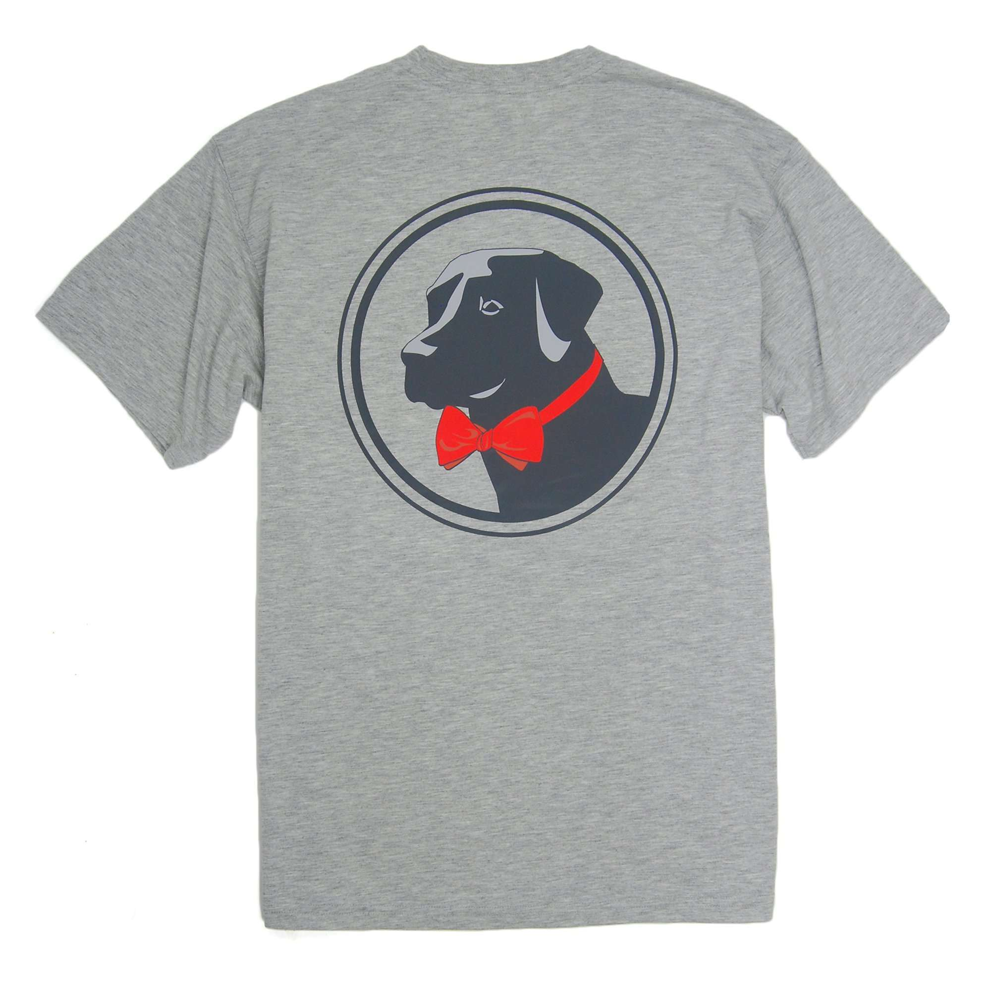 Original Logo Tee: Heather Grey