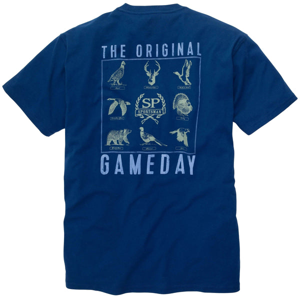 Southern Proper - The Original Gameday Tee: Reflecting Pond Short Sleeve