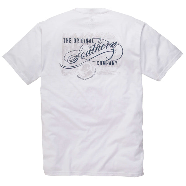 Southern Proper - Original Southern Tee: White Short Sleeve