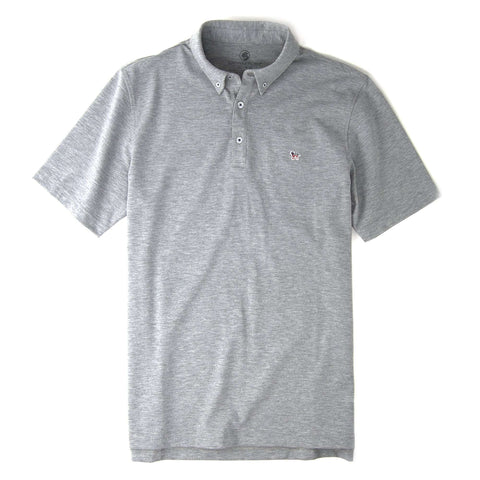 Southern Proper - Party Animal Polo: Heather Grey
