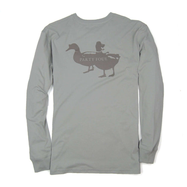 Southern Proper - Party Foul Tee - Flint Grey