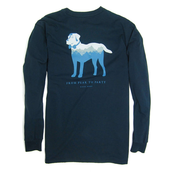 Southern Proper - Peak Party Animal Tee - Blueberry