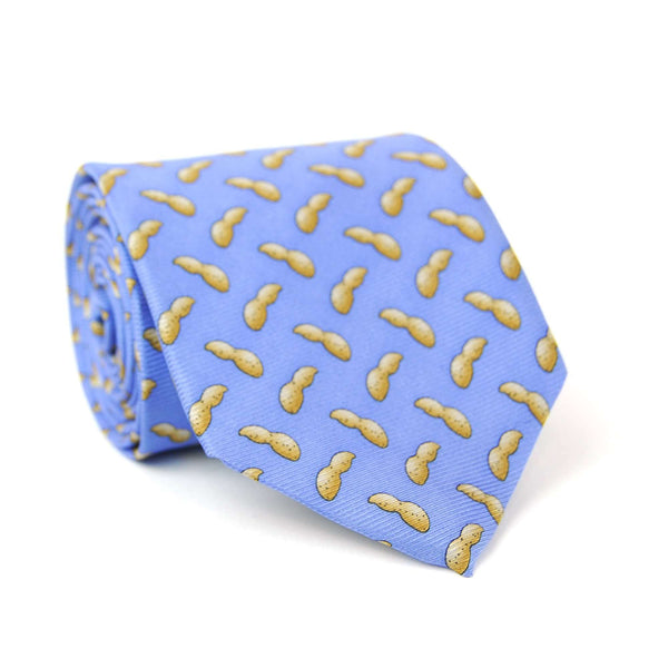 Southern Proper - Peanut Tie - Light Blue