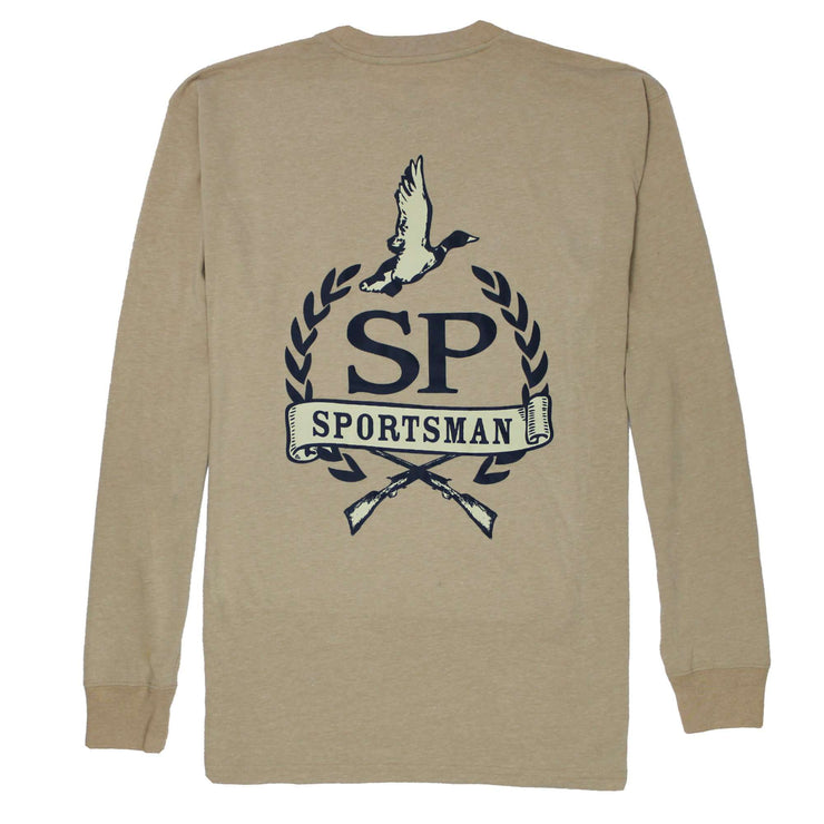 Southern Proper - Proper Sportsman Long Sleeve Tee: Heather Dove