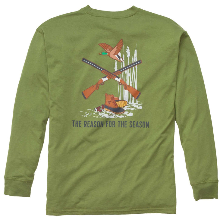 Southern Proper - Reason For The Season: Cedar Long Sleeve