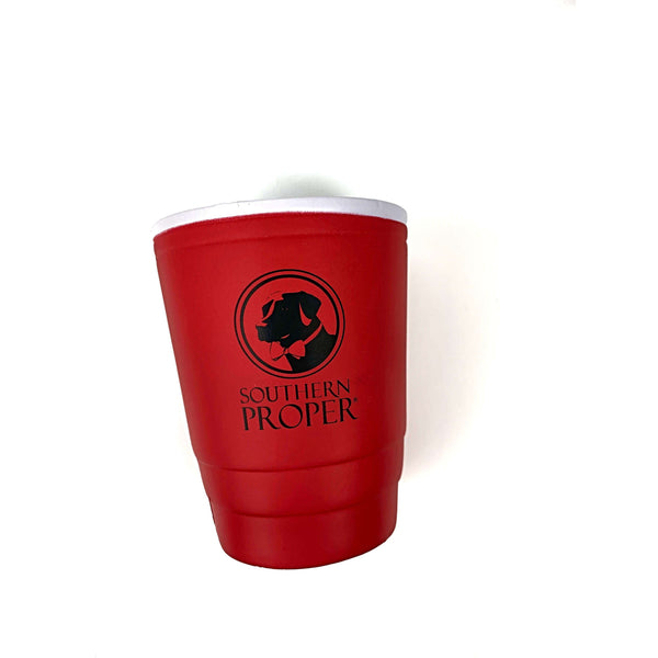 Southern Proper - Red SoPro Cup Coozie