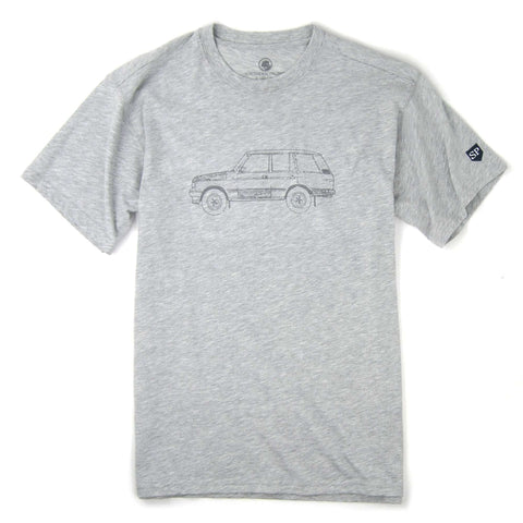 Southern Proper - Rover Tee: Heather Grey