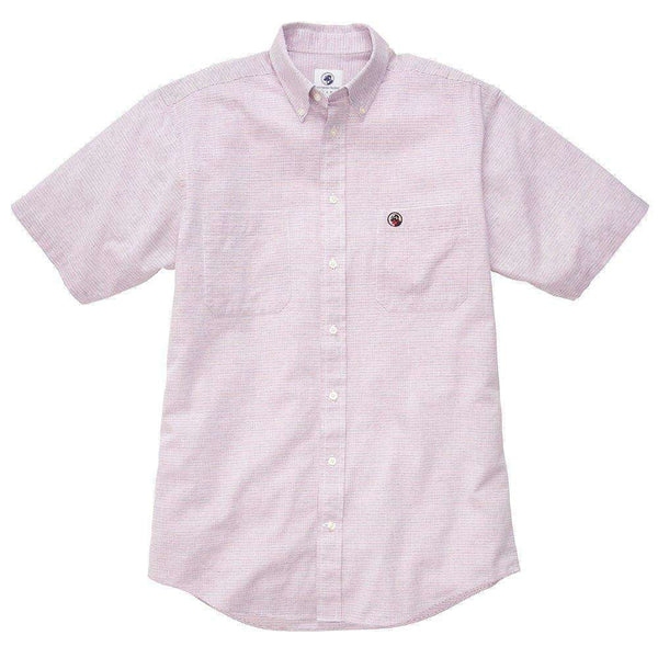 Southern Proper - Social Shirt: Navy / Red