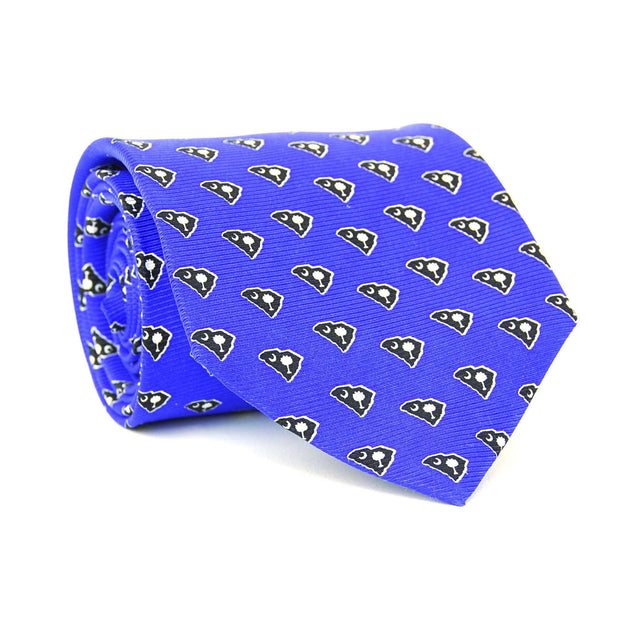 Southern Proper - South Carolina Traditional Tie: Blue