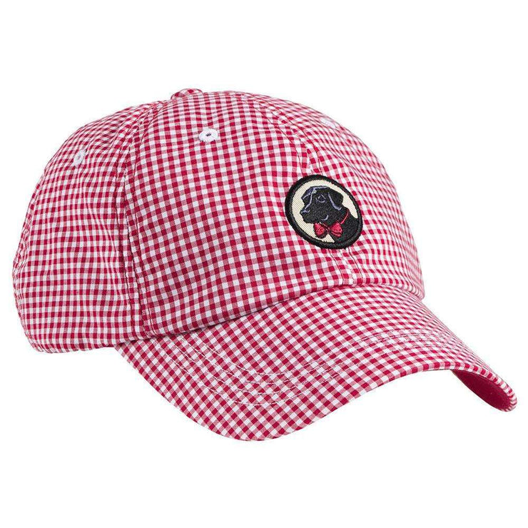 Southern Proper - Gingham Frat Hat - Red