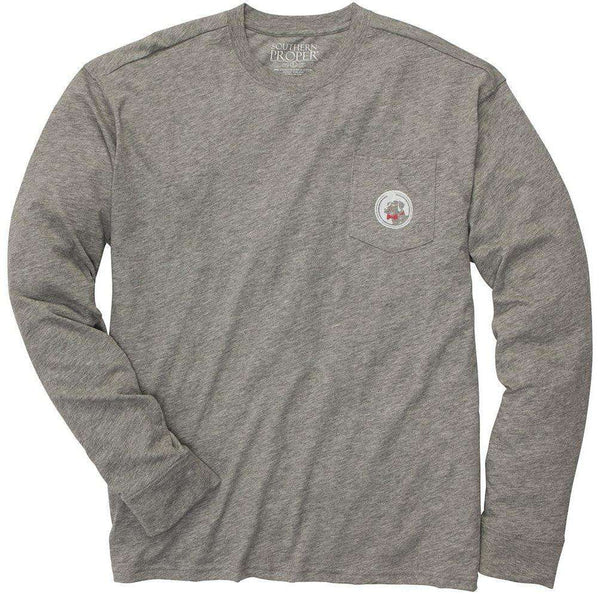 Southern Proper - The Take The Field Tee  - Long Sleeve