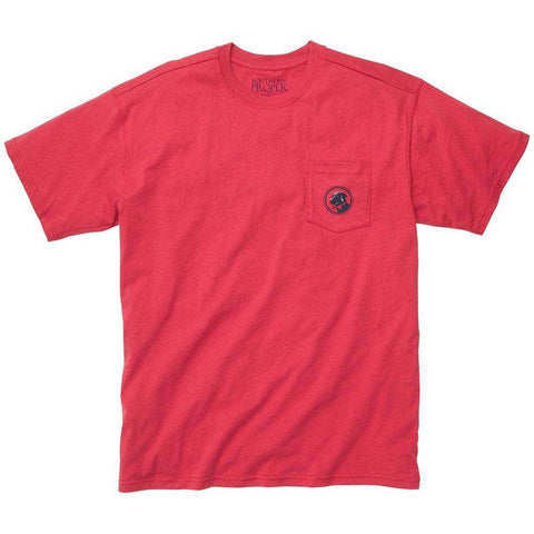 Southern Proper - House Rules Tee - Red