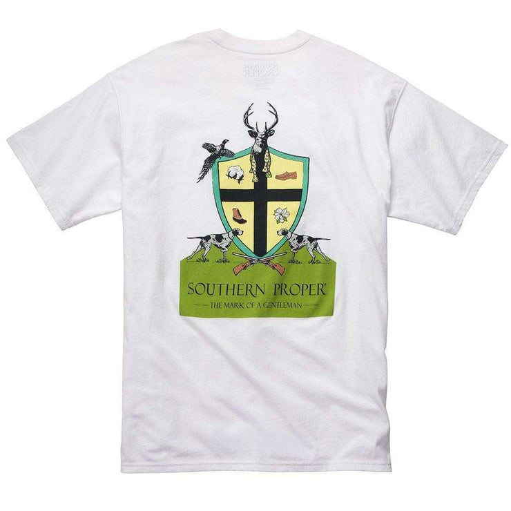Southern Proper - Mark Of A Gentleman Tee - White