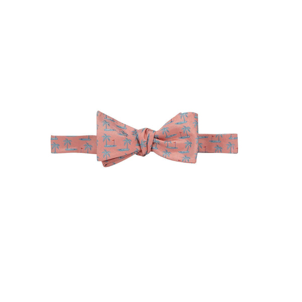 Southern Proper - Tee Time Bowtie - Flamingo