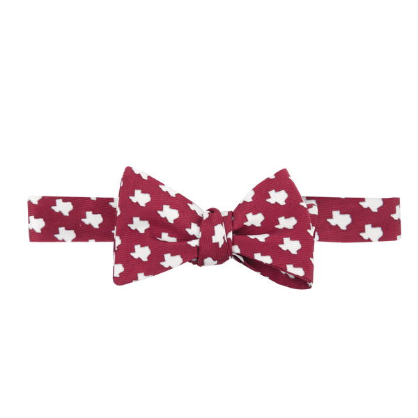 Southern Proper - Texas Gameday Bow: Maroon