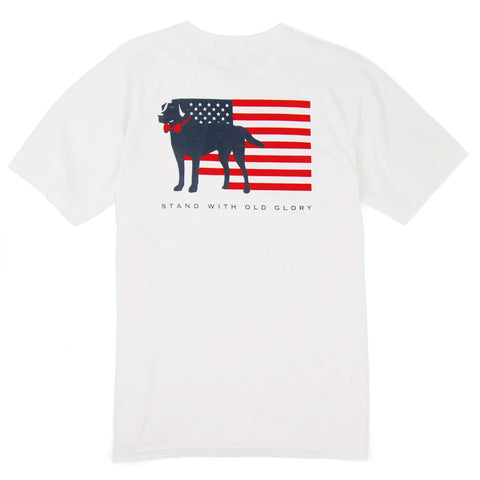 Southern Proper - Stand With Old Glory: White