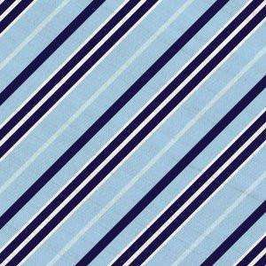 Southern Proper - Southern Stripe Beau Light Blue