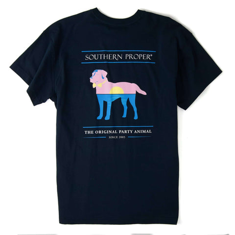 Southern Proper - Sunset Party Animal: Navy