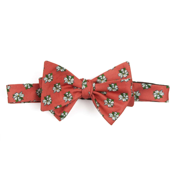 Southern Proper - Sweet Magnolia Bowtie- Coral
