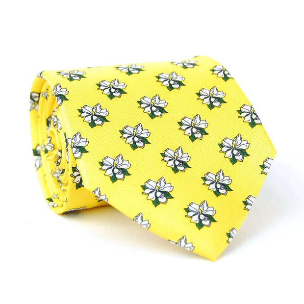 Southern Proper - Sweet Magnolia Tie: Yellow