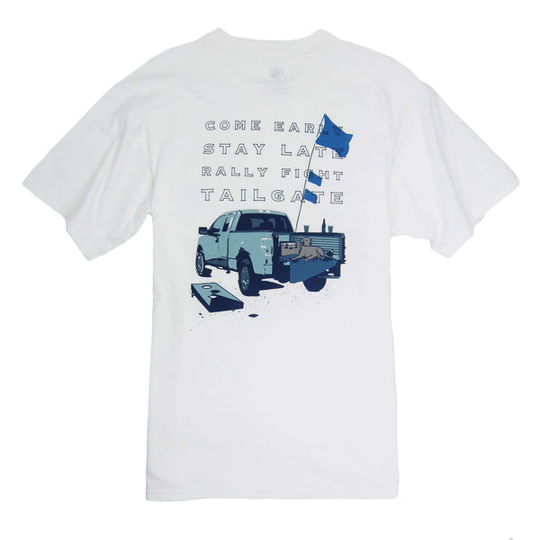 Southern Proper - Tailgate Tee - White