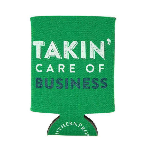 Southern Proper - Takin' Care of Business Coozie