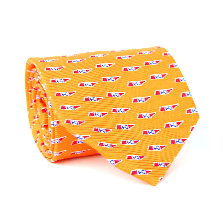 Southern Proper - Tennessee Traditional Tie: Orange