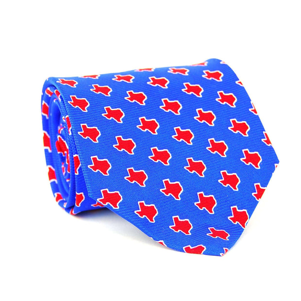 Southern Proper - Texas Gameday Tie: Blue