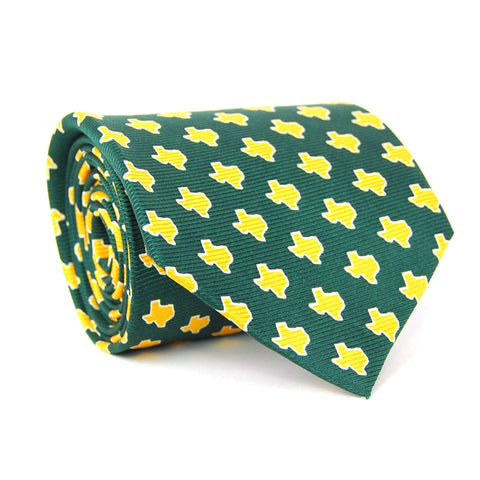 Southern Proper - Texas Gameday Tie: Green