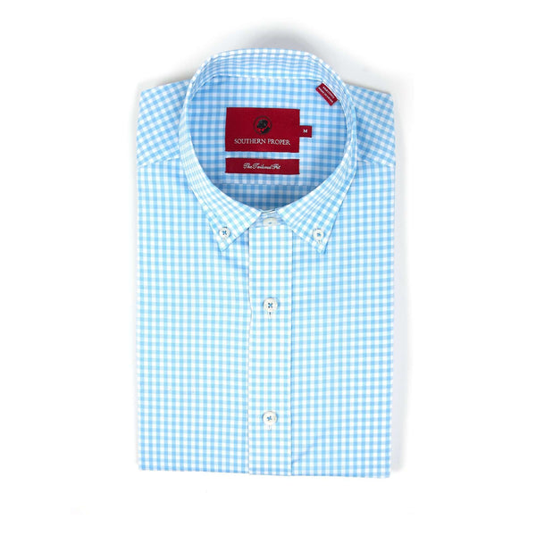 Southern Proper - The Henning Button Down - Light Blue