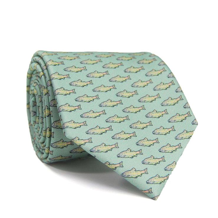 Southern Proper - Trout Tie: Silt Green