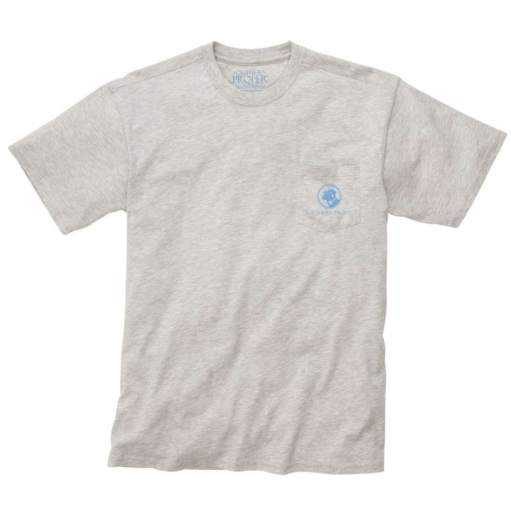 Southern Proper - Who Said It Tee - A Lot Goes Down When We Dress Up