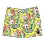 Southern Proper - Yellow Cotton Paisley Swim