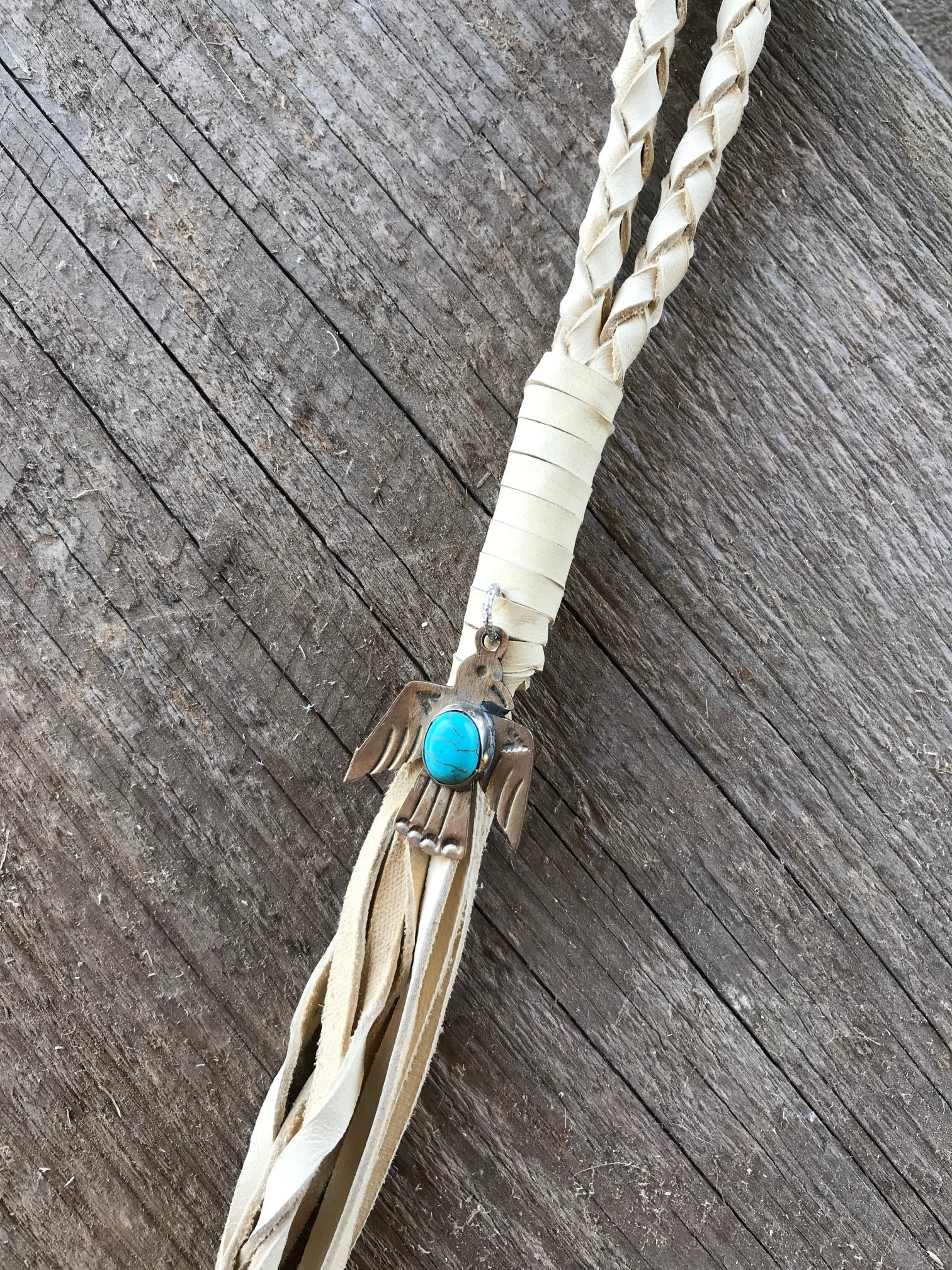 Thunderbird Necklace - Buckskin
